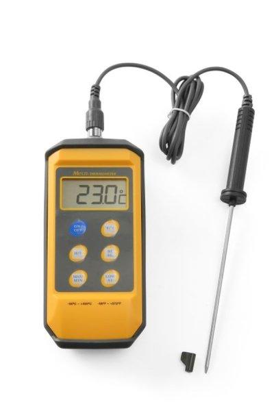 Stoßfester Thermometer mit Digitalanzeige und Stiftsonde