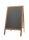HENDI Kundenstopper       500x850 mm Holz Massiv