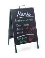 HENDI Kundenstopper Kreidetafel 500x850 mm mit stahlrahmen