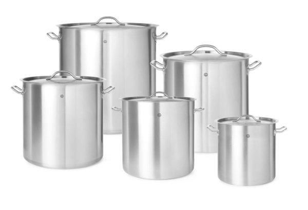 Kochtopf - mit Deckel, 98 Liter