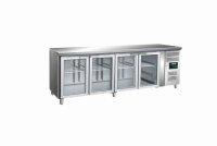 SARO Kühltisch mit Glastür Modell GN 4100 TNG