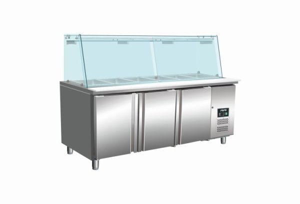 SARO Saladette mit Glasaufsatz Modell SG 3070