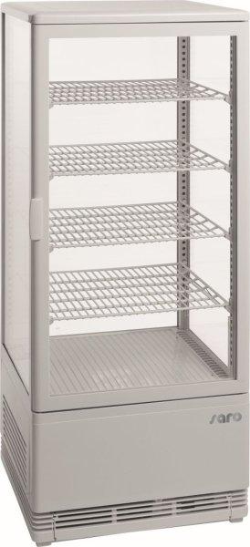 Umluftkühlvitrine Modell SC 100 weiß
