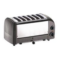 Dualit Vario Toaster, grau, 6 Schlitze