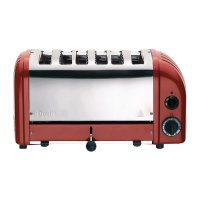 Dualit Toaster, 6 Schlitze, rot (M)
