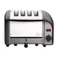 Dualit Vario Toaster, grau, 4 Schlitze