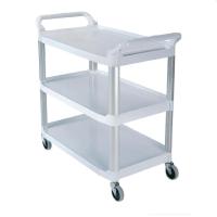 Rubbermaid Servierwagen 135 kg weiß
