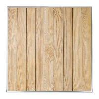 Bolero quadratischer klappbarer Tisch Eschenholz 1 Bein 60cm