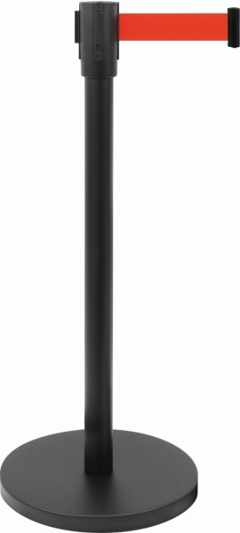 Absperrpfosten / Tensatoren Modell AF 206 PR, Gurt: B 1800 x H 47 mm