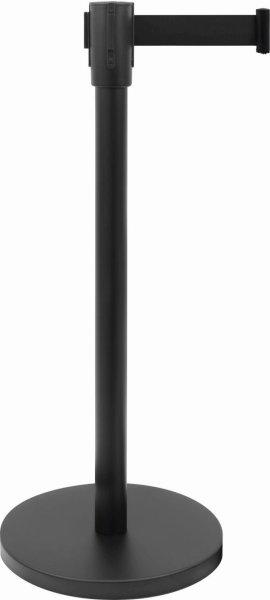 Absperrpfosten / Tensatoren Modell AF 206 PS, Gurt: B 1800 x H 47 mm