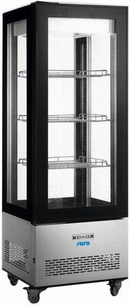 Kühlvitrine, 400 Liter Modell LEONIE, Maße: B 650 x T 650 x H 1908