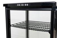 Kühlvitrine, 235 Liter Modell SVEN schwarz,...