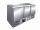 Saladette Modell BALDUR S 903, Maße: B 1365 x T 700 x H 870-890