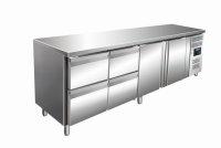 Kühltisch inkl. 2 x 2er Schubladenset Modell KYLJA...