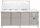 Saladette mit Glasaufsatz Modell GN 3100 TNS, Maße: B 1795 x T 700 x H 1365