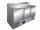 Belegstation - 1/3 GN Modell FRAN 3-türig, Maße: B 1370 x T 700 x H 1010