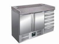 Pizzatisch mit Schubladen Modell PZ 9001, Maße: B...