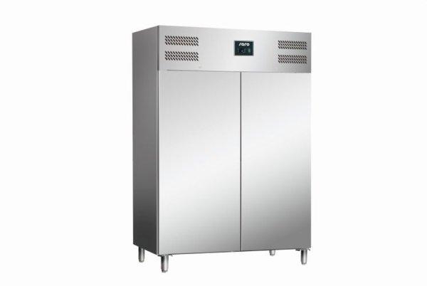 Gewerbekühlschrank, 2-türig - 2/1 GN Modell TORE GN 1400 TN, Maße: B 1480 x T 830 x H 2010