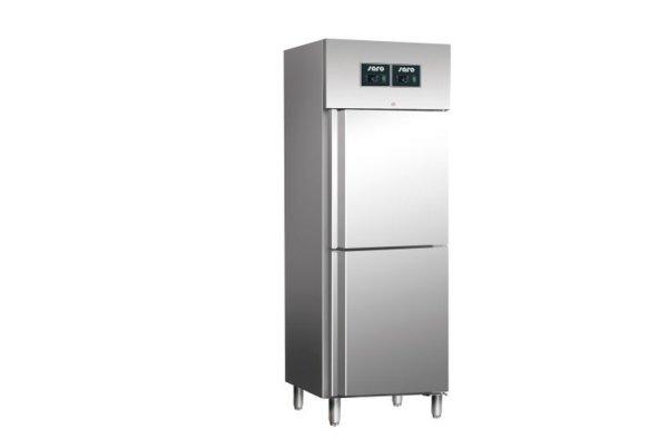 Gewerbekühlschrank - Kühl-Gefrierkombination Modell GN 60 DTV, Maße: B 680 x T 830 x H 2010