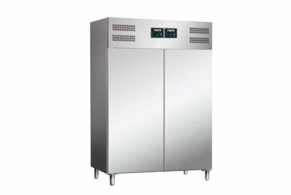 Gewerbekühlschrank - Kühl-Gefrierkombination Modell GN 120 DTV, Maße: B 1340 x T 830 x H 2010