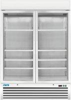 Tiefkühlschrank mit Glastür - 2-türig...