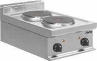 Elektroherd Tischmodell E7/CUET2BB, Maße: B 400 x T...