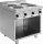 Elektroherd mit offenem Unterbau Modell E7/CUET4BA, Maße: B 400 x T 700 x H 270