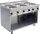 Elektroherd mit offenem Unterbau Modell E7/CUET6BA, Maße: B 800 x T 700 x H 850
