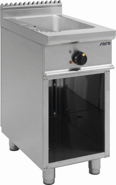 Bain Marie mit offenem Unterbau E7/BME1BA, Maße: 400 x 700 x 850 mm