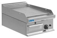 Gas-Griddleplatte Tischmodell E7/KTG1BBL, Maße: B 400, Bratplatte: 395 x T 700, Bratplatte: 530 x H 270