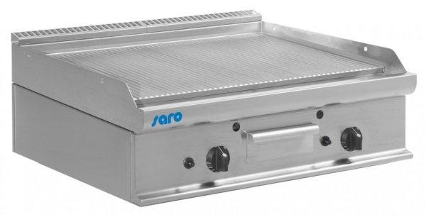 Gas-Griddleplatte Tischmodell E7/KTG2BBR, Maße: B 800, Bratplatte: 795 x T 700, Bratplatte: 530 x H 270