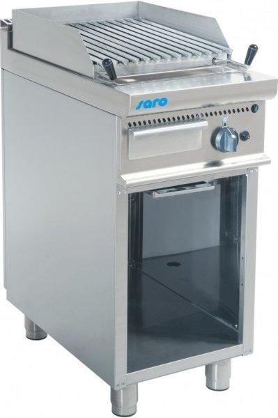 Gas-Lavasteingrill Modell E7/BS1BA, Maße: B 400 x T 700 x H 850