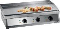 Griddleplatte Modell FRY TOP 760, Maße: B 845, Bratplatte: 830 x T 500, Bratplatte: 400 x H 245