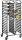 Regalwagen für Backbleche 600 x 400 mm Modell LIAM DUO, Maße: B 880 x T 600 x H 1735