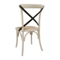 Bolero Esszimmerstühle Eichenholz ecru,2 Stück