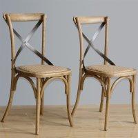 Bolero Esszimmerstühle Eichenholz naturell