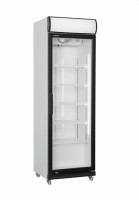 Kühlschrank mit Glastür + Canopy, Modell GTK 425