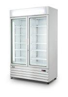 SARO Tiefkühlschrank mit Glastür - 2-türig...