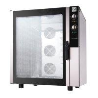 GI Elektro-Heißluftofen 10x GN 1/1 oder 600x400mm,...