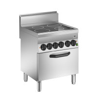 GI 650 HP Keramikkochfeld mit 4 Kochzonen und...