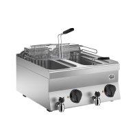 GI 650 HP Elektro-Fritteuse 10+10 Liter, 70cm
