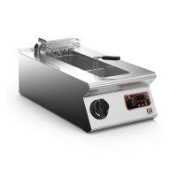 Elektro-Fritteuse 40cm, 10 Liter Inhalt, 9 kW, seitliches...
