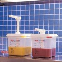 Araven 2 Soßenspender GN 1/6 Transparent 2,6L