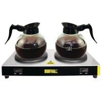 Buffalo doppelte Kaffeewarmhalteplatte