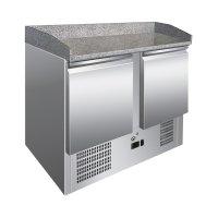 GI Edelstahl Kühltisch mit 2 Türen und...