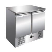 GI Edelstahl Kühltisch mit 2 Türen,...