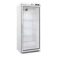 GI Kühlschrank aus weißem Stahl mit...