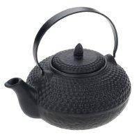 Orientalische Teekanne schwarz 85cl